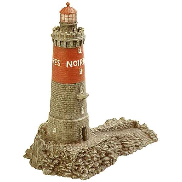 Phare miniature pierre noires ph413