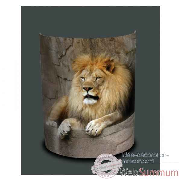 Applique murale animaux sauvages lion -AS1203APP