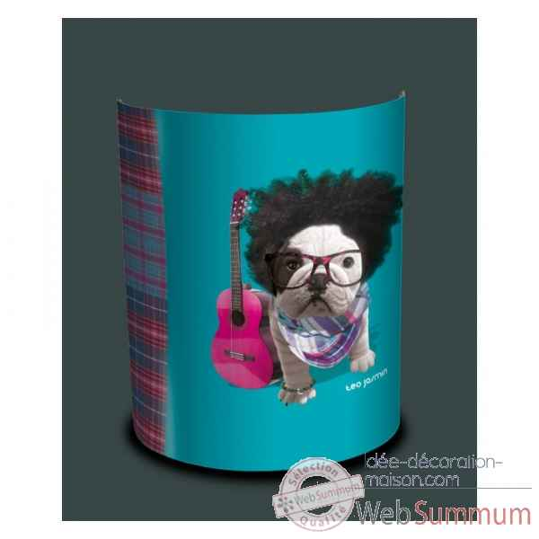 Applique murale teo jasmin be cool turquoise -TO15182APP