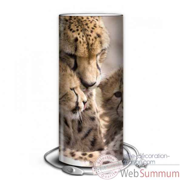 Lampe animaux sauvages leopard -AS1423