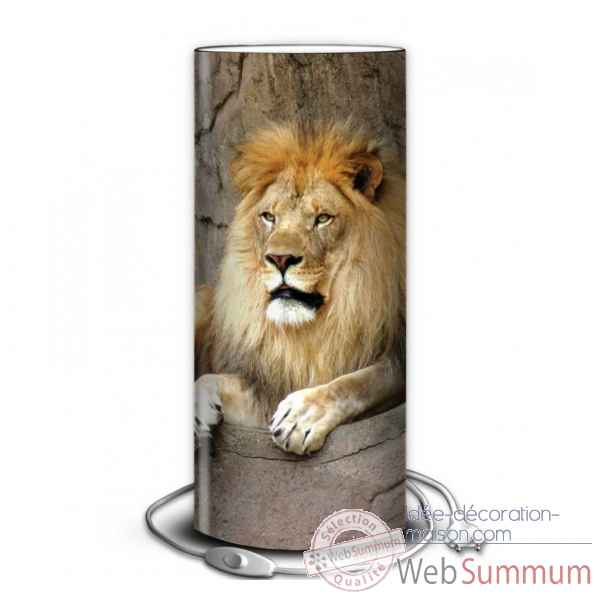 Lampe animaux sauvages lion -AS1203