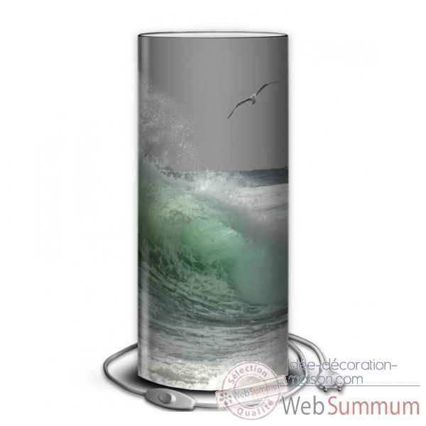Lampe collection marine rouleau vague -MA1663