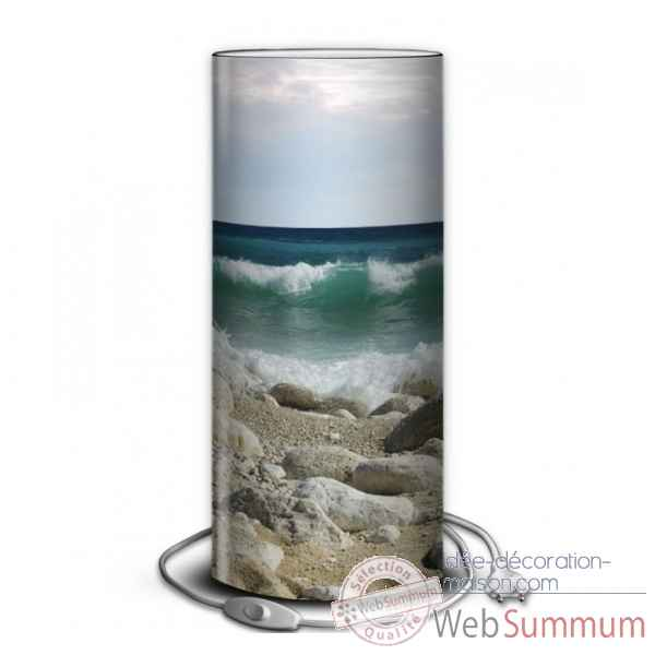 Lampe collection marine vague et galets -MA1650