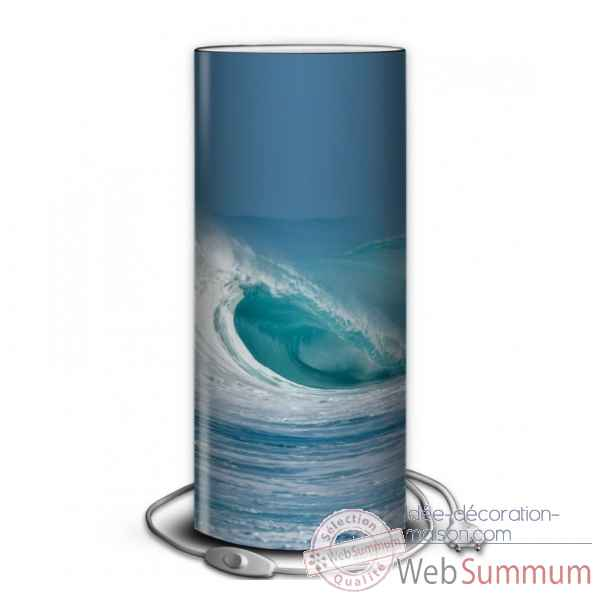 Lampe collection marine vague tube -MA1217