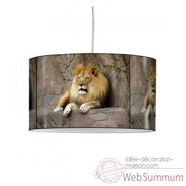 Lampe suspension animaux sauvages lion -AS1203SUS