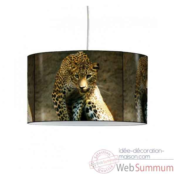 Lampe suspension animaux sauvages panthere -AS1204SUS