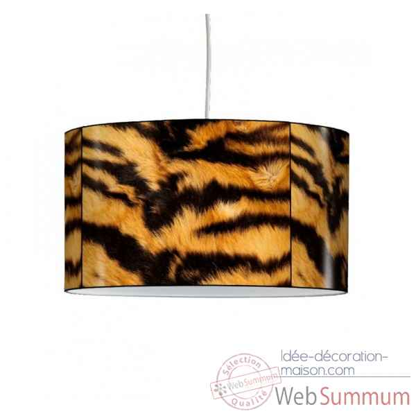 Lampe suspension collection matieres peau de tigre -MAT1311SUS