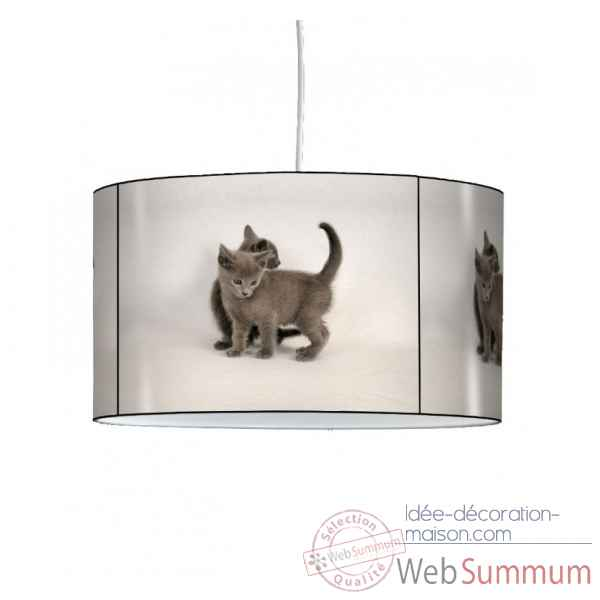 Lampe suspension collection nos amis chatons -NOA1309SUS