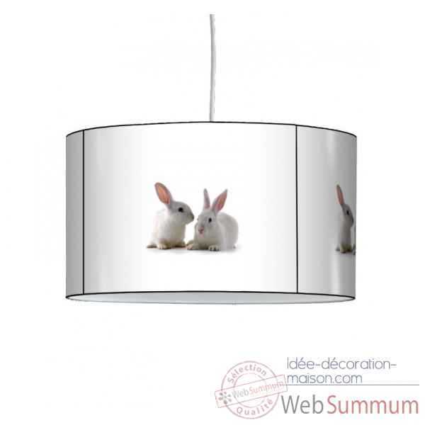 Lampe suspension collection nos amis lapins -NOA1310SUS