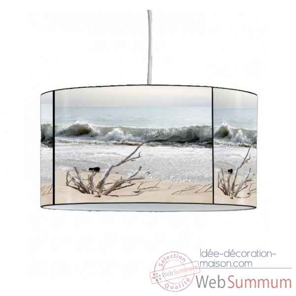 Lampe suspension marine plage et vague -MA1661SUS