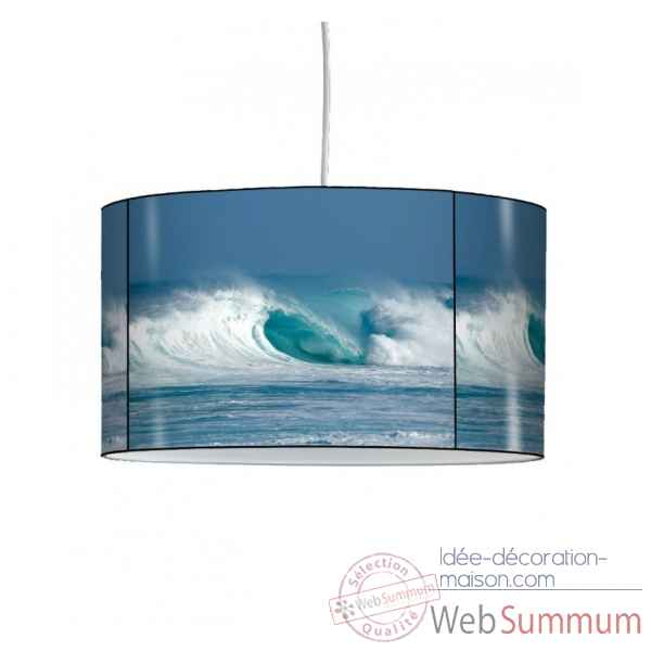 Lampe suspension marine vagues -MA1217SUS