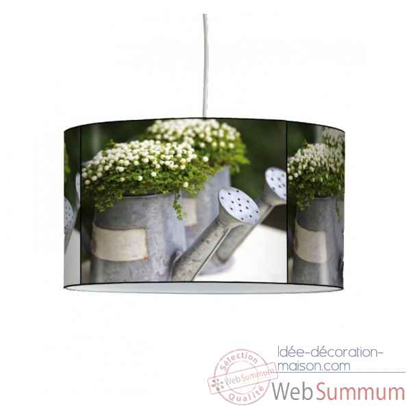 Lampe suspension nature arrosoir -NA1201SUS