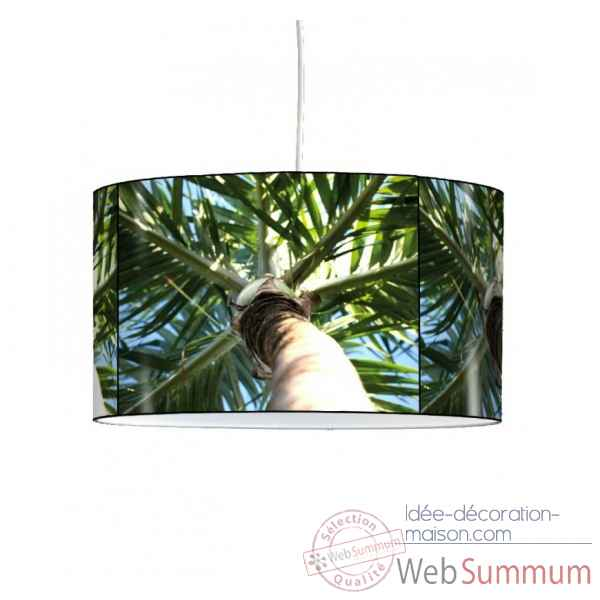 Lampe suspension nature palmier -NA1337SUS