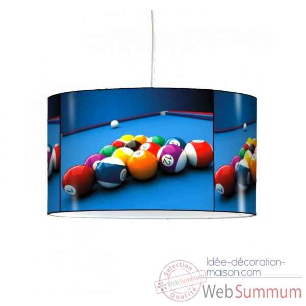 Lampe suspension sports et loisirs billard -SL1318SUS