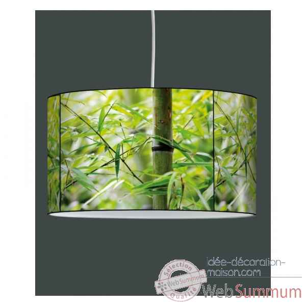 Lampe suspension zen design bambous -ZE1303SUS