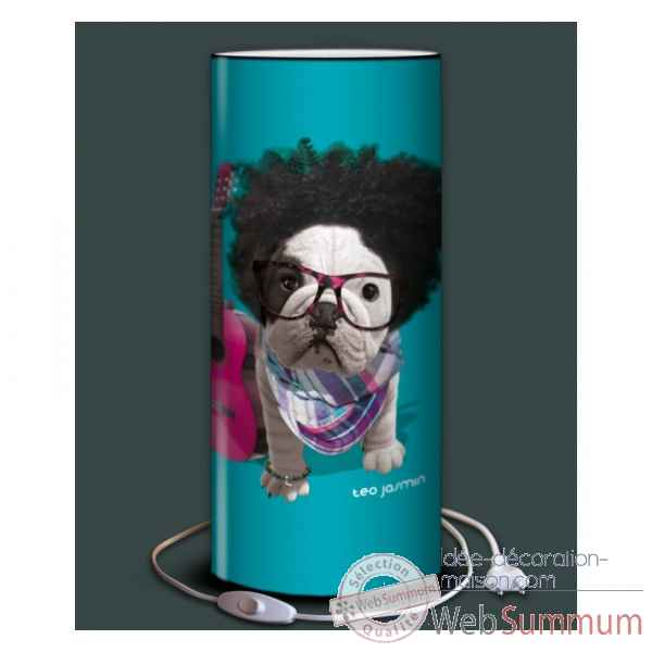 Lampe teo jasmin be cool turquoise -TO15182