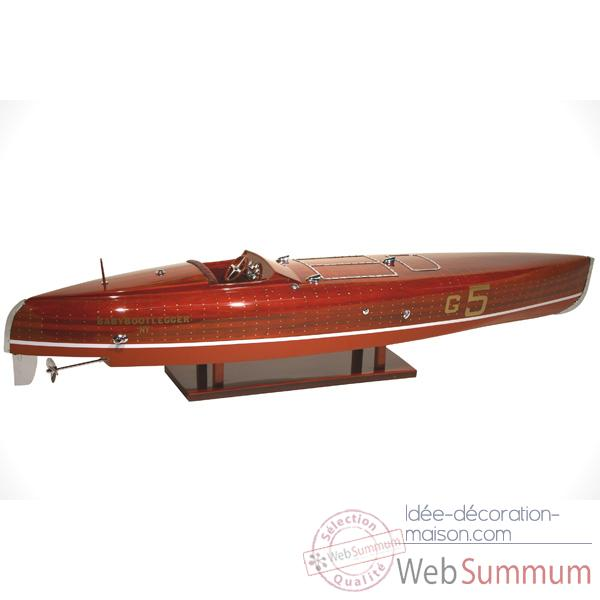 Maquette Runabout American - Babybootlegger - Collection Riva - R-BABY50