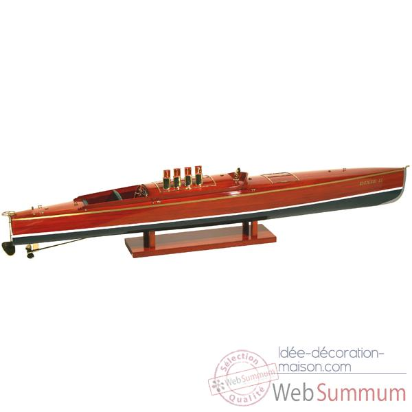 Maquette Runabout Americain-Dixie II-Collection Riva - R-DIX50