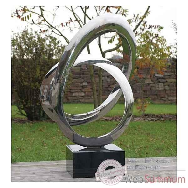 Sculpture Perpetuum avec socle Berdeco -WS-ST018-45 dans Sculpture ...