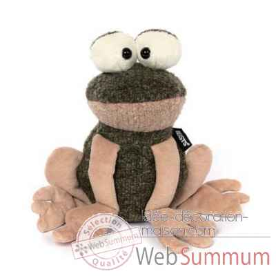 Peluche grenouille is was frog, beasts Sigikid -38728
