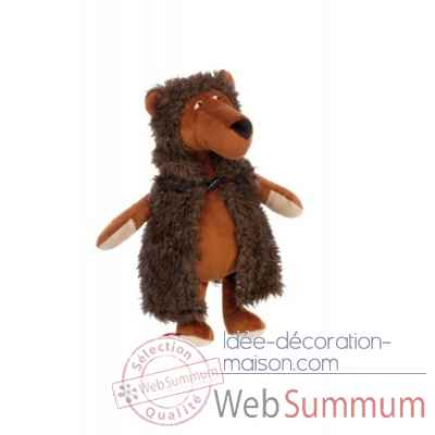 Peluche ours grizzly bizzly beasts sigikid -38778