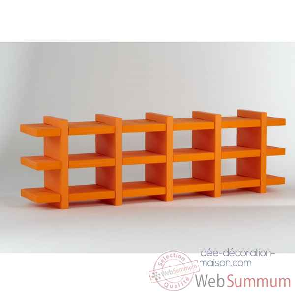 Bibliotheque etagere design booky small SD BKY070