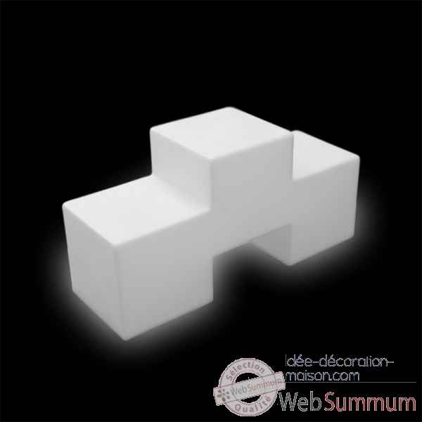 Meuble d'appoint lumineux desing design tris out IP55 SD TRF090 de ...: www.idee-decoration-maison.com/meuble-salon/table-basse/meuble...