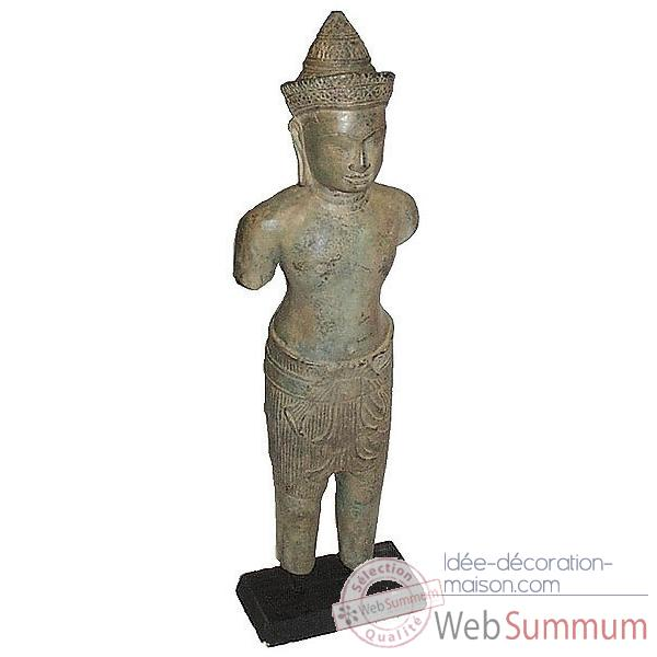 Statuette antique en bronze -BRZ609