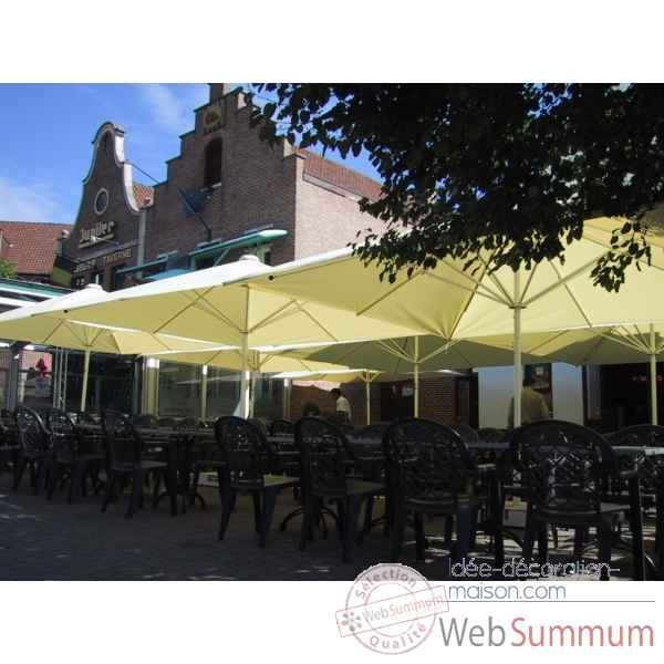 Parasol symo macsymo rectangle 5x4 m -macsymo-re-500