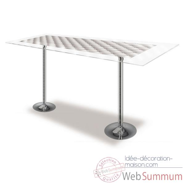 Table de bar design Capiton Acrila - 0010