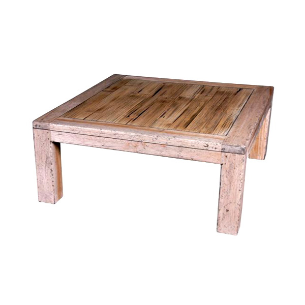 Table basse en bois naturel vieilli fabriqu en indon sie - Table basse en bois naturel ...