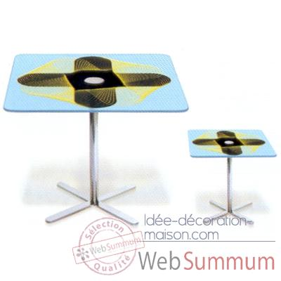 Table carree basse Aitali Karim Rashid -TCB01