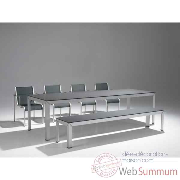 Table extempore still extremis hauteur standard - Table salon modulable hauteur ...
