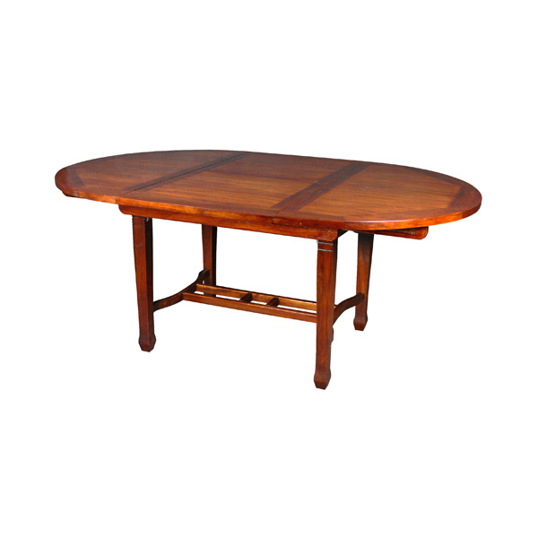 Table Ronde Avec Rallonge Papillon Meuble D 39 Indon Sie