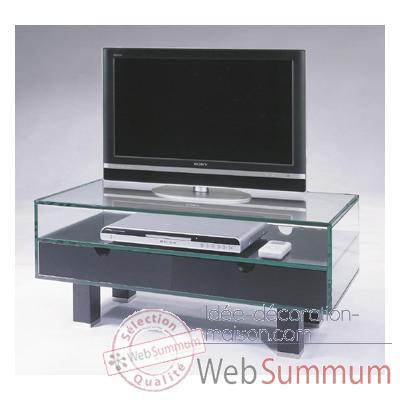 D co design tendance objet et meuble id e d coration maison for Table tele en verre