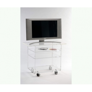 Table tele 72x35x56 Marais Hifi en PMMA -MTV537
