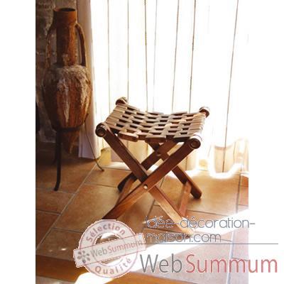 tabouret bois pliant produits marins web summum web0249 de autres mobilier marins. Black Bedroom Furniture Sets. Home Design Ideas