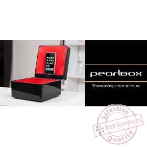 Coffret dock ipod iphone noir tangent -pearlbox-n