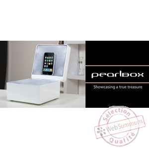 Coffret dock ipod iphone perle tangent -pearlbox-p