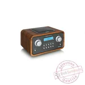 Poste radio internet wifi mp3 noyer tangent -radio quattro-noy