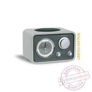 Radio de table am fm laque silver tangent -radio uno-ls