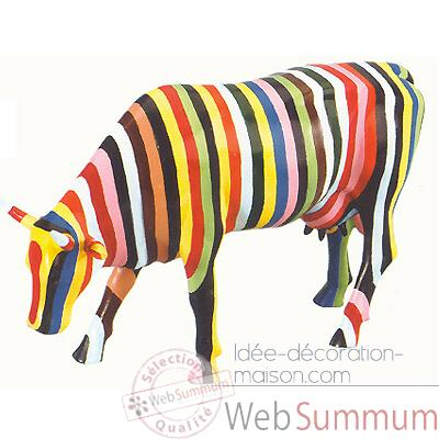 Cow Parade - Striped -20286