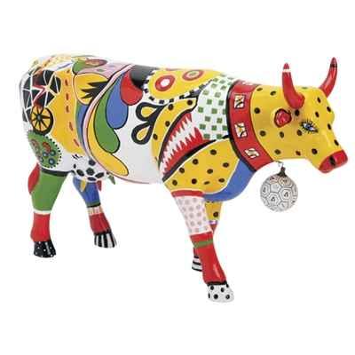Vache Cow Parade Kick New York 2000 Dans Decoration Cow Parade De