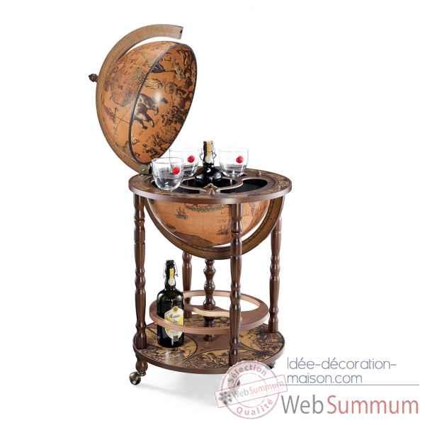 eichholtz serre livres globe en nickel acc05302 sur id e d coration maison eichholtz globe. Black Bedroom Furniture Sets. Home Design Ideas