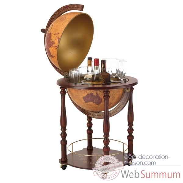bar mappemonde gea zoffoli dans globe terrestre ancien sur id e d coration maison. Black Bedroom Furniture Sets. Home Design Ideas